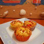 Muffins rot weiß