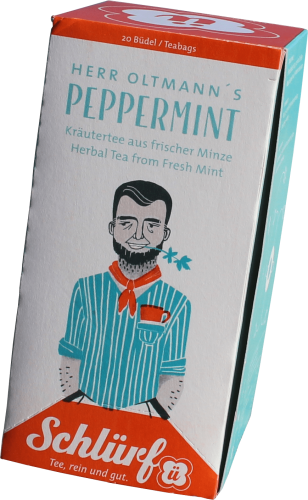 Kräutertee Pepper